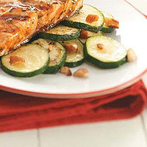 Almond-Topped Zucchini Recipe
