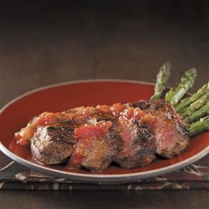 Grilled Red Chili Steak Recipe