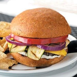 Grilled Veggie Sandwiches Recipe | Taste of Home