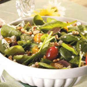 Fruit & Spinach Salad Recipe