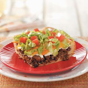 Makeover Nacho Beef Bake Recipe
