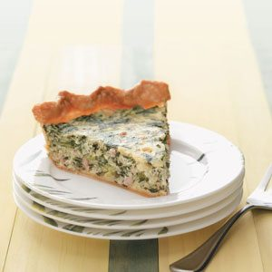 Makeover Sausage & Spinach Pie