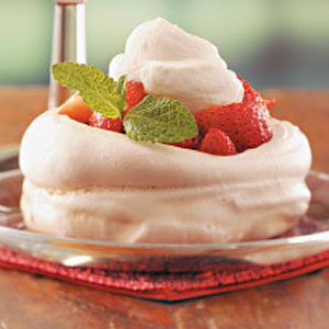 Meringue Nests Recipe