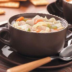 Sensational Turkey Noodle Soup