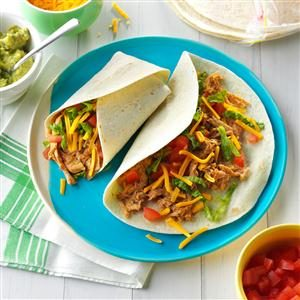 Slow-Cooked Pork Burritos Recipe