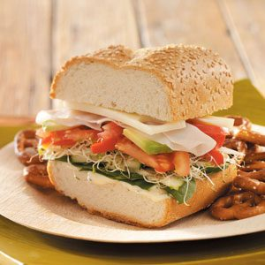 Summer Veggie Subs Recipe