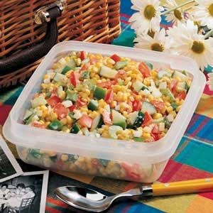 Quick Corn Salad for 2 Recipe