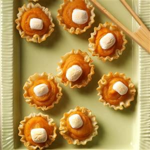 Sweet Potato Tartlets Recipe