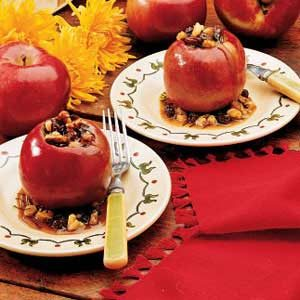 Spiced Baked Apples Recipe