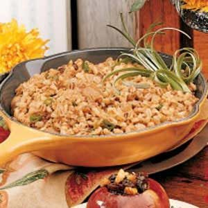 Onion Barley Casserole Recipe