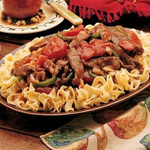 Pepper Steak for 2 Recipe