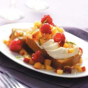 Dessert Bruschetta with Nectarine Salsa Recipe