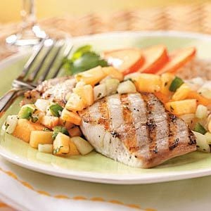 Mahi Mahi with Nectarine Salsa Recipe