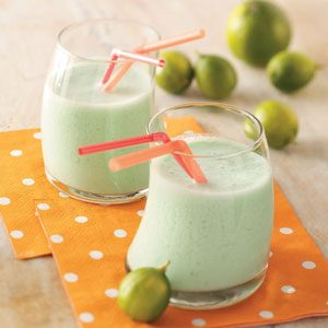 Lime Milk Shakes Recipe
