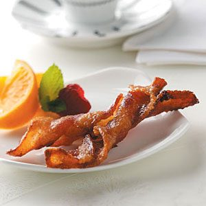 Spiced Bacon Twists