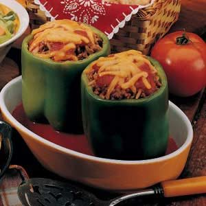 Stuffed Peppers for Two Recipe