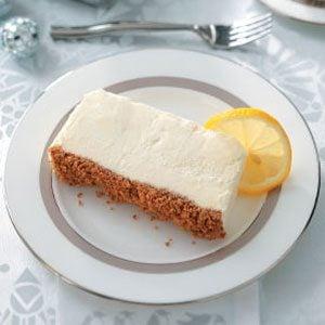 Italian Lemon Frozen Dessert Recipe
