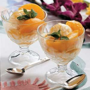 Peachy Dessert Sauce Recipe