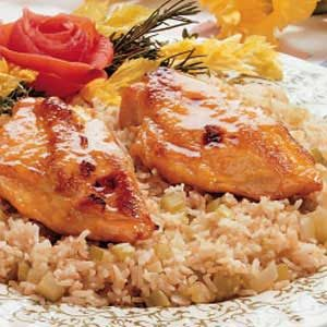 Honey-Baked Chicken for Two Recipe