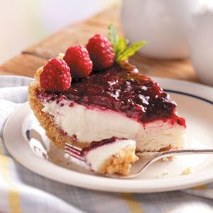 You can still enjoy treats like raspberry cream pie with special diabetic recipes