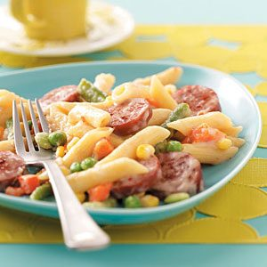 Spicy Sausage and Penne Recipe