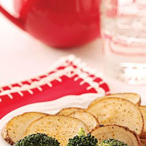 Baked Potato Slices Recipe