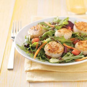 Special Scallops Salads Recipe