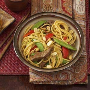 Asian Beef with Noodles Recipe