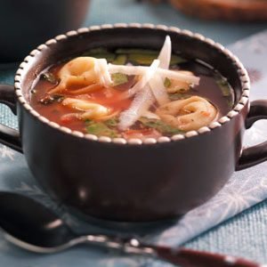 Holiday Tortellini Soup Recipe