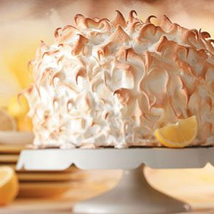 Lemon-Lime Meringue Cake Recipe