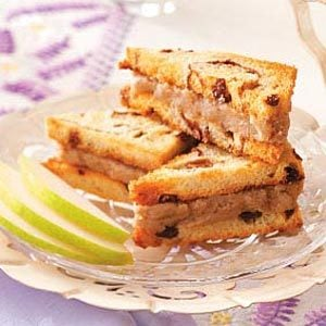 Pear Tea Sandwiches Recipe