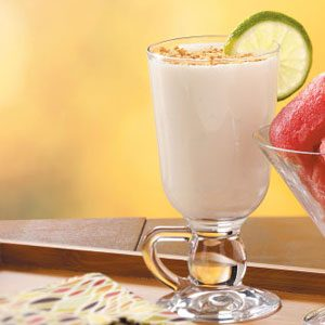 Cool Lime Pie Frappes Recipe