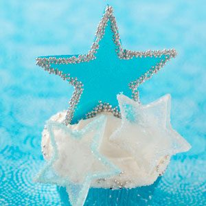 Winter Fantasy Star Cupcakes Recipe