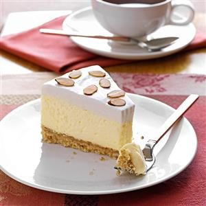 Luscious Almond Cheesecake Recipe