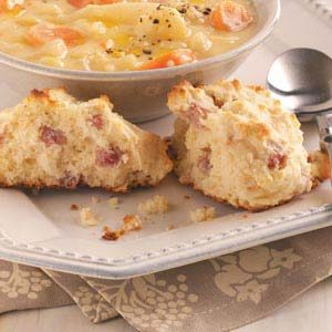 Ham and Swiss Biscuits Recipe