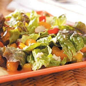 Red Leaf and Mandarin Salad Recipe