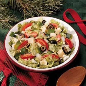 Garden Olive Salad Recipe