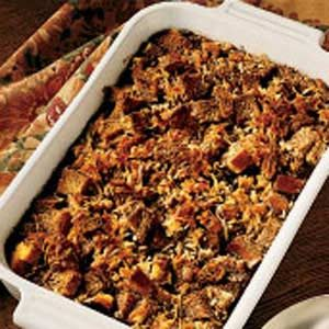 Chocolate Bread Pudding with Coconut Recipe