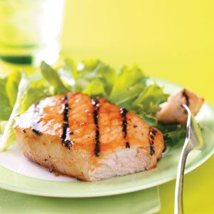Apricot Glazed Pork Chops Recipe