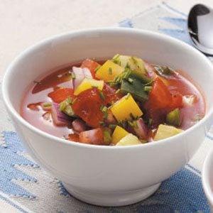 Healthy Gazpacho for 2 Recipe