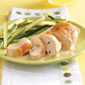 Chicken with Rosemary Butter Sauce Recipe