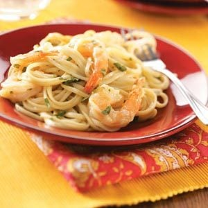 Curry Shrimp Linguine Recipe