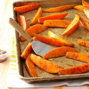 Chili-Spiced Sweet Potato Wedges Recipe