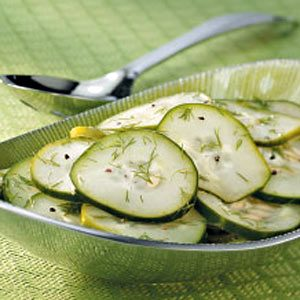 Cucumber Dill Salad Recipe
