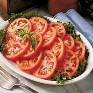 Easy Marinated Tomatoes Recipe