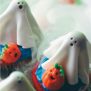 Sugar Ghost Cupcakes Recipe