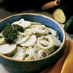 Cucumbers in Cream Recipe