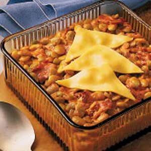 Quick Lima Bean Casserole Recipe