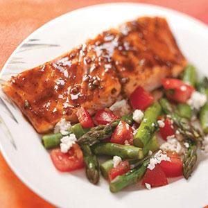 Balsamic-Glazed Salmon Recipe