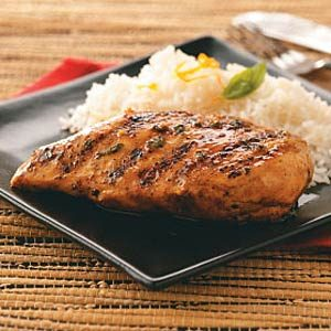 Orange-Maple Glazed Chicken Recipe